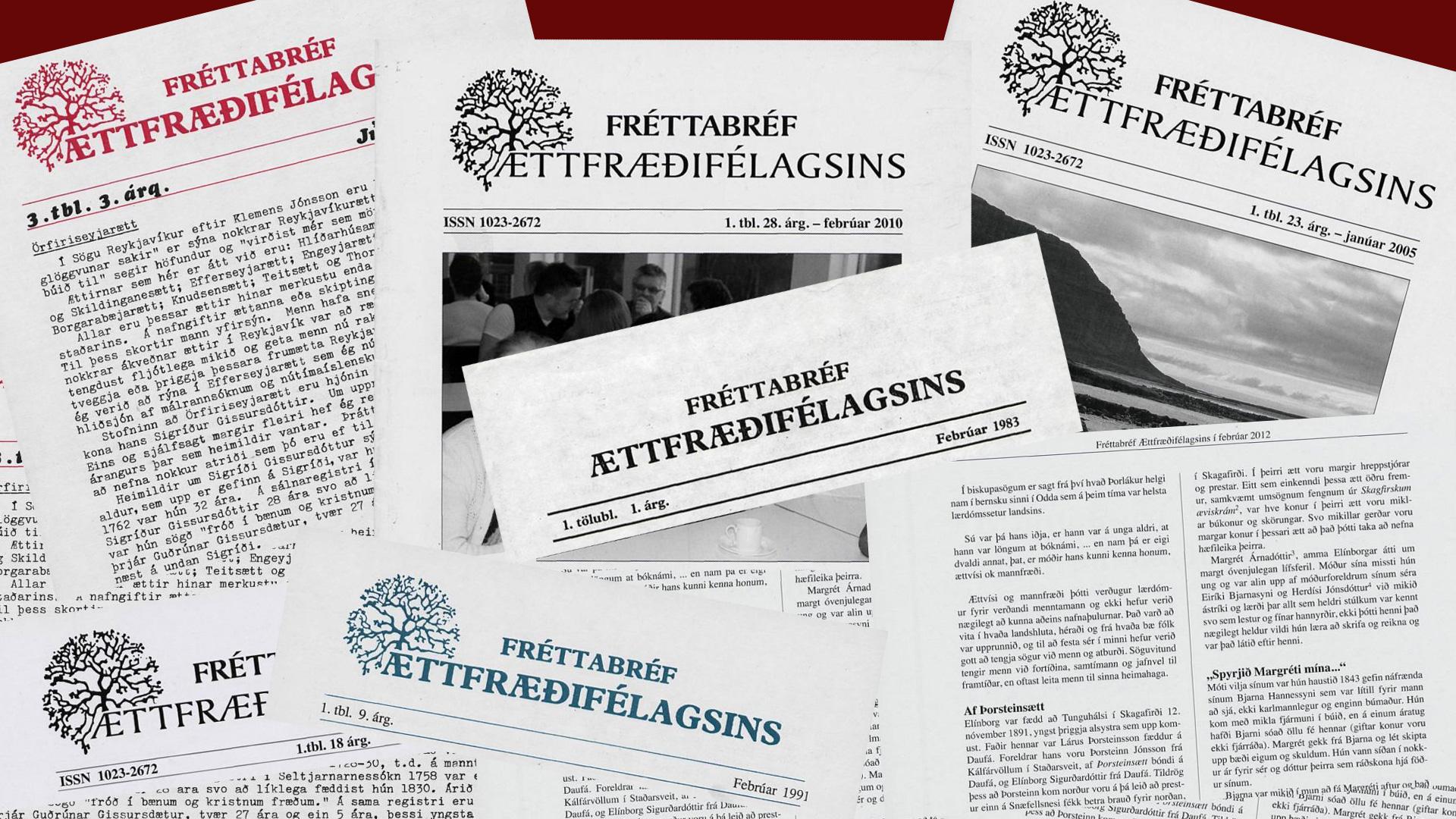 Fréttabréfið.